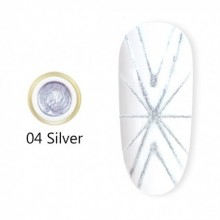 Gel UV Spider CANNI 04 Silver