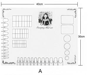 Pad de silicon pentru practica model A