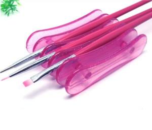 Suport pentru pensule mic roz