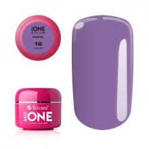 Gel UV Color Base One 5g Pastel 12 Violet
