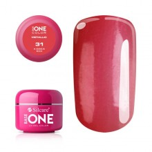 Gel UV Color Base One 5g Metalic Kisses Red 31
