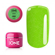 Gel UV Color Base One Silcare Neon Lime Tree 22