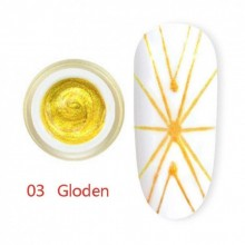 Gel UV Spider CANNI 03 Golden