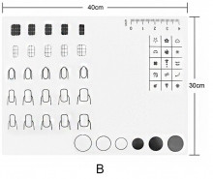 Pad de silicon pentru practica model B