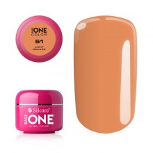 Gel uv Color Base One Silcare Clasic Light Orange 51