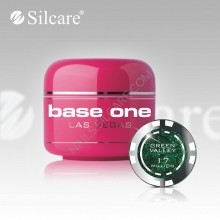 Gel uv Color  Base One Silcare Las Vegas Green Valley 17