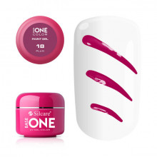 Gel UV Color Base One Silcare Paint Plum 18
