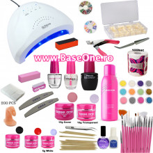 Kit unghii cu Gel UV Base One #2