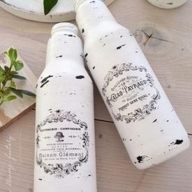 Vaze frantuzesti (inalte) Shabby French Jars | Shabby French Jars