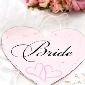 Inimioara Bride | Recuzita nunta