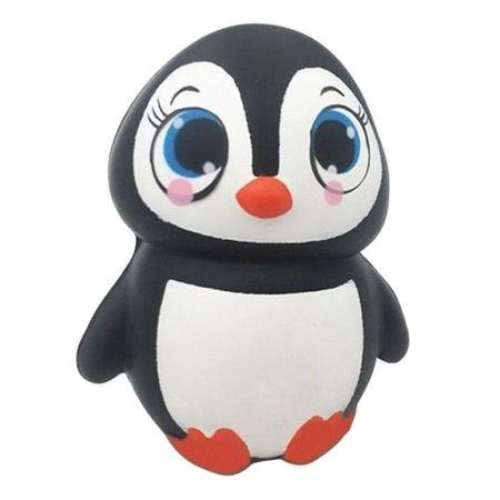 Jucarie Squishy, pinguinul simpatic