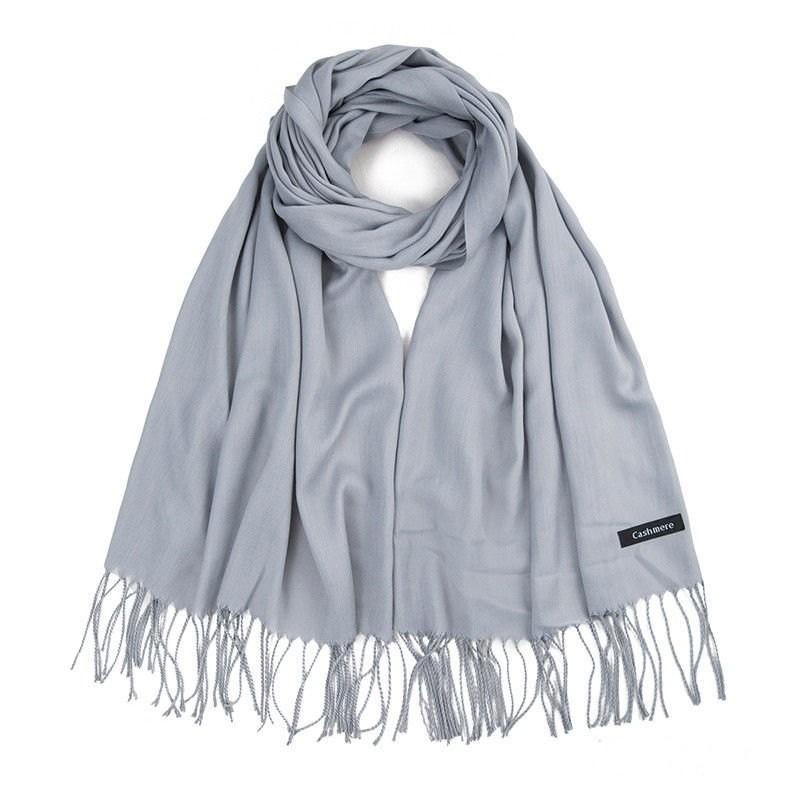 Esarfa / fular casmir / cashmere - grey
