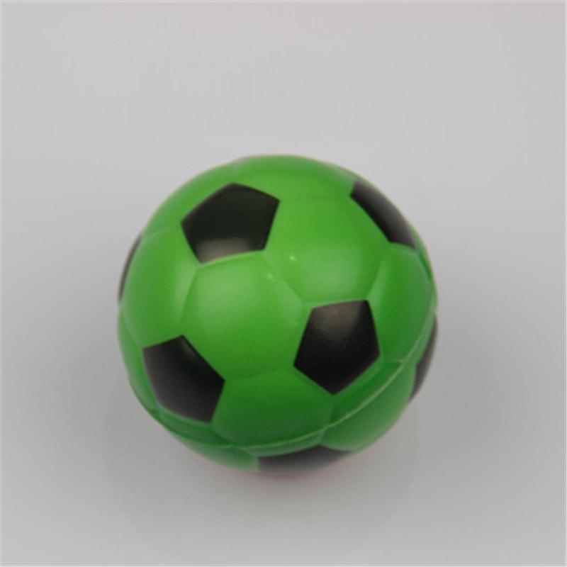 Jucarie Squishy ieftina, model minge de fotbal, verde