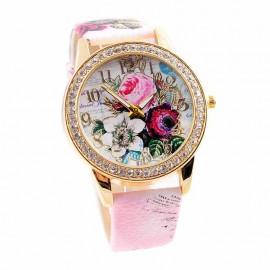 Ceas dama Beautiful Roses - roz