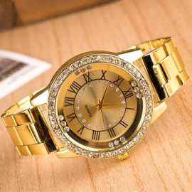 Poze Ceas dama Golden Stylish Crystals