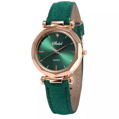 Poze Ceas dama ieftin Amber, fin si elegant, verde