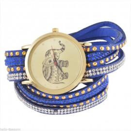 Ceas dama model elefant (simbolul norocului) - bluesky