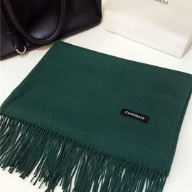 Esarfa / fular casmir / cashmere - green