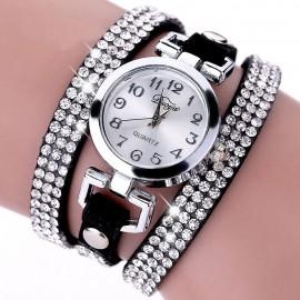 Poze ceas dama cu cristale Sophie - black