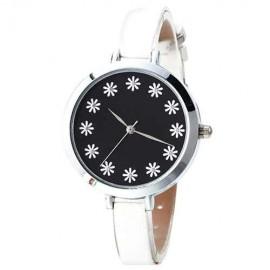 Ceas dama - Each Hour a Flower - alb