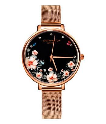 ceas dama ieftin cu model flori