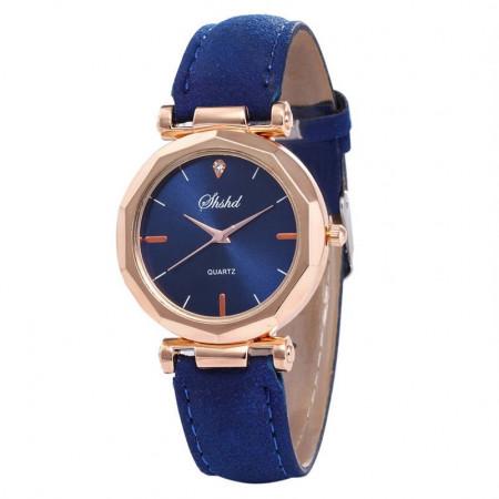 Poze Ceas dama ieftin Amber, fin si elegant, albastru