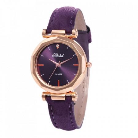 Poze Ceas dama ieftin Amber, fin si elegant, purple / mov