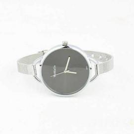 Poze Ceas de dama Womage, negru cu argintiu