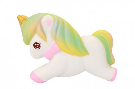 Poze Squishy ieftina, jucarie model calut unicorn