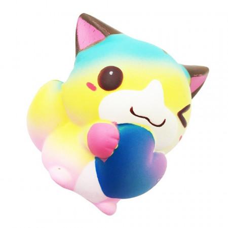 Poze Squishy ,Jumbo, model pisicuta indragostita