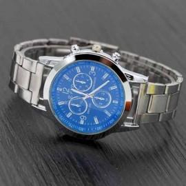 ceas barbatesc metalic, quartz