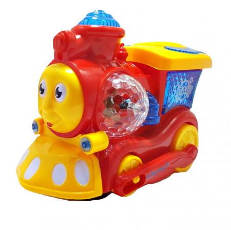 Poze Jucarie ieftina Trenulet cu miscare, sunet si lumini, gen Thomas