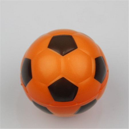 Poze Jucarie Squishy ieftina, model minge de fotbal, orange
