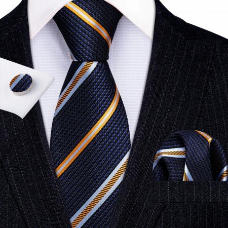 set cravata matase 100%