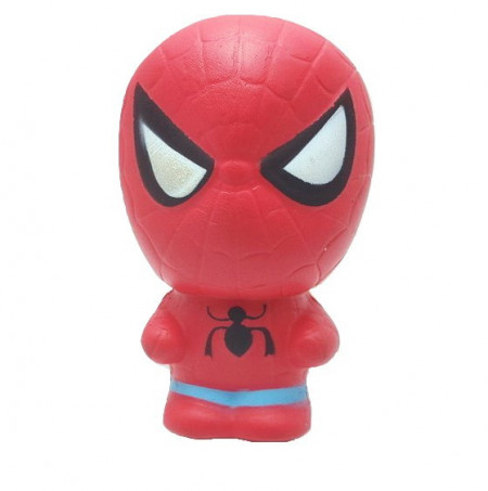 Poze Squishy spider man, jucarie ieftina