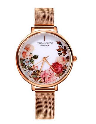 ceas dama ieftin cu model floral