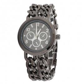 Ceas dama Geneva - Chain Style (Black)