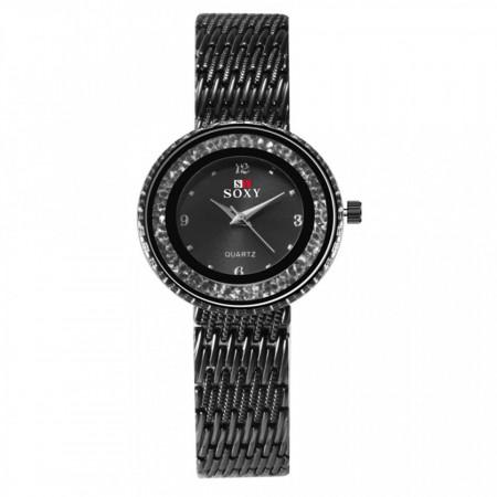 ceas dama elegant ieftin negru
