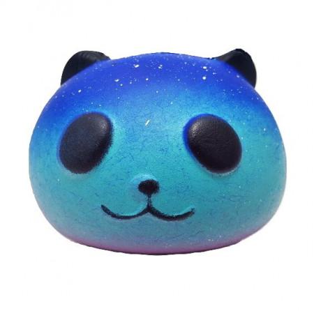 Poze Jucarie Squishy parfumata, cap de urs panda galactic