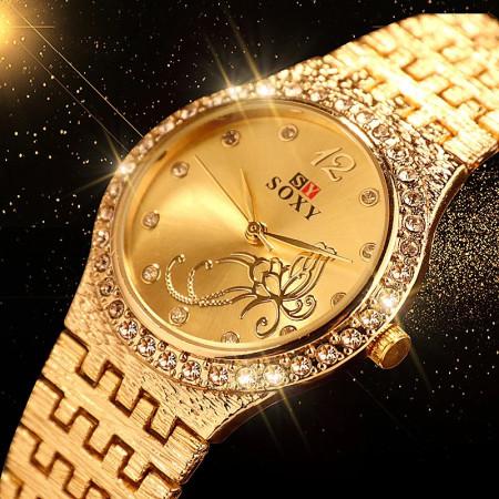 Poze Ceas dama, de lux, Jubilee, auriu