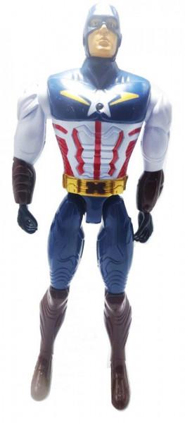 Poze Figurina gen Captain America, 27.5 cm, cu led si muzica + cutie originala, model 3