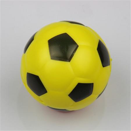 Poze Jucarie Squishy ieftina, model minge de fotbal, galbena