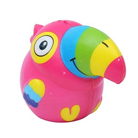 Poze Jucarie Squishy, parfumata, papagal, cyclam
