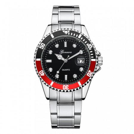 ceas barbatesc metalic ieftin
