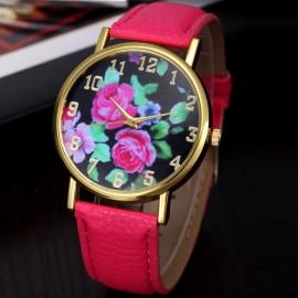 Poze Ceas dama ieftin Flowers Dream - Light Purple