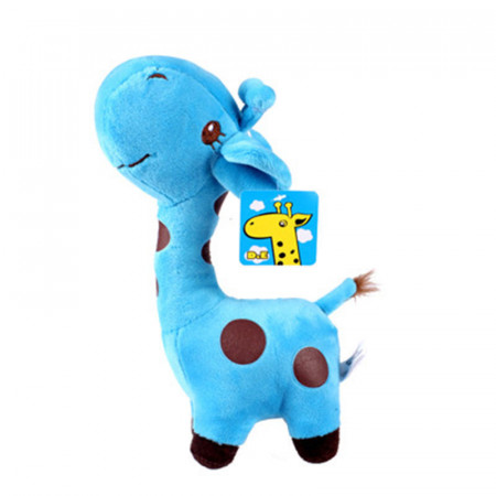 Poze Figurina plus model girafa, culoare blue