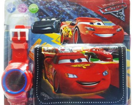 set cars portofel cu ceas