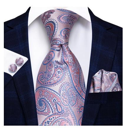 set cravata matase