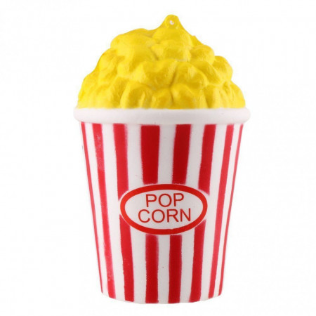 Poze Squishy jucarie parfumata, model popcorn