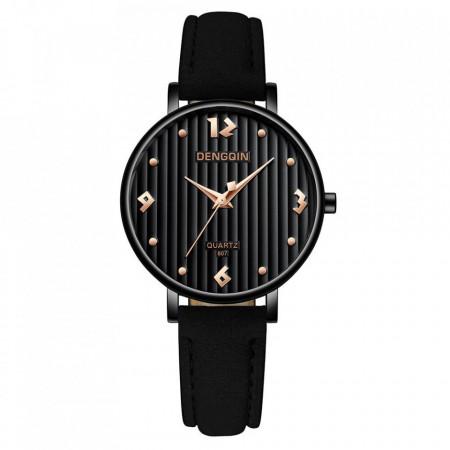 Poze Ceas dama Giana, stil casual, negru